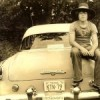 With my 1954 Dodge in high school, 1972