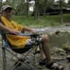 At the Comal River, 2008