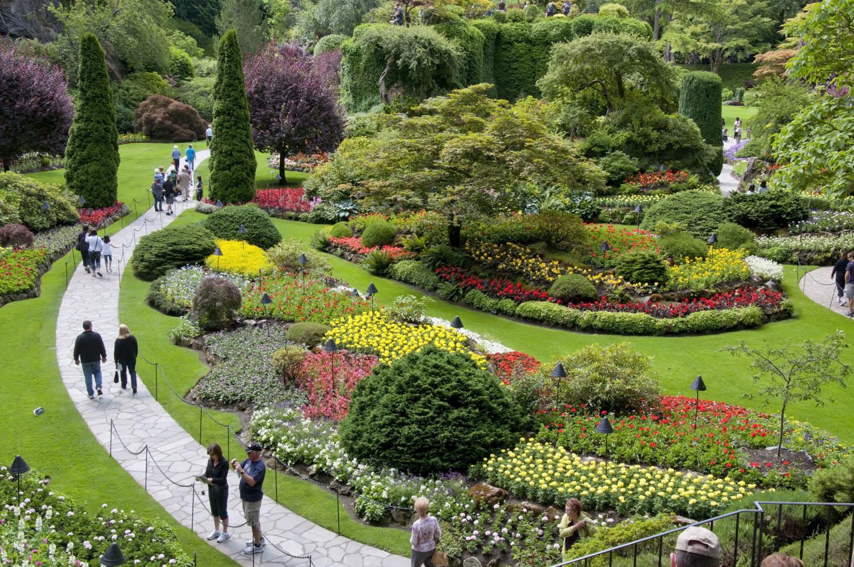 Buchart Gardens, Victoria, B.C., July 2011