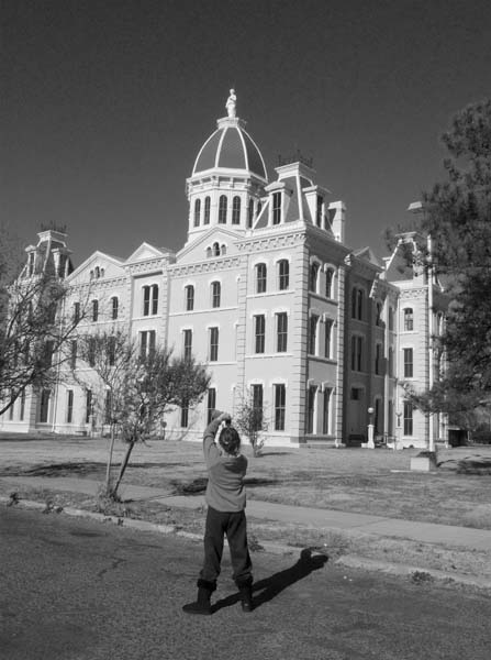 Courthouse, Marfa, Texas, December 2008