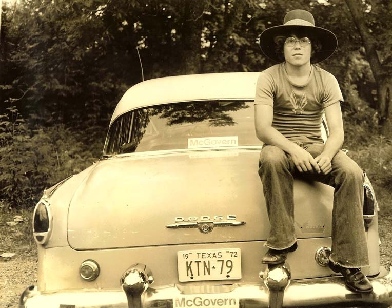 Me and my 1954 Dodge in 1972