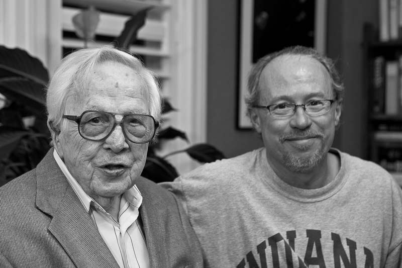 My friend Monk WIllis and I, Fall 2008.