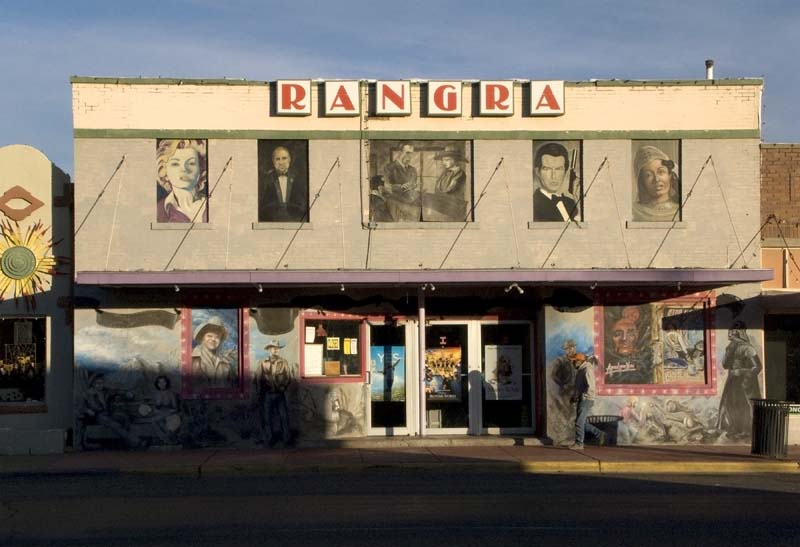 Rangra Theater, Alpine, Texas, December 2008