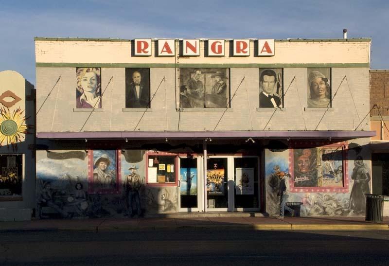 Rangra Theater, Alpine, Texas, December 2008