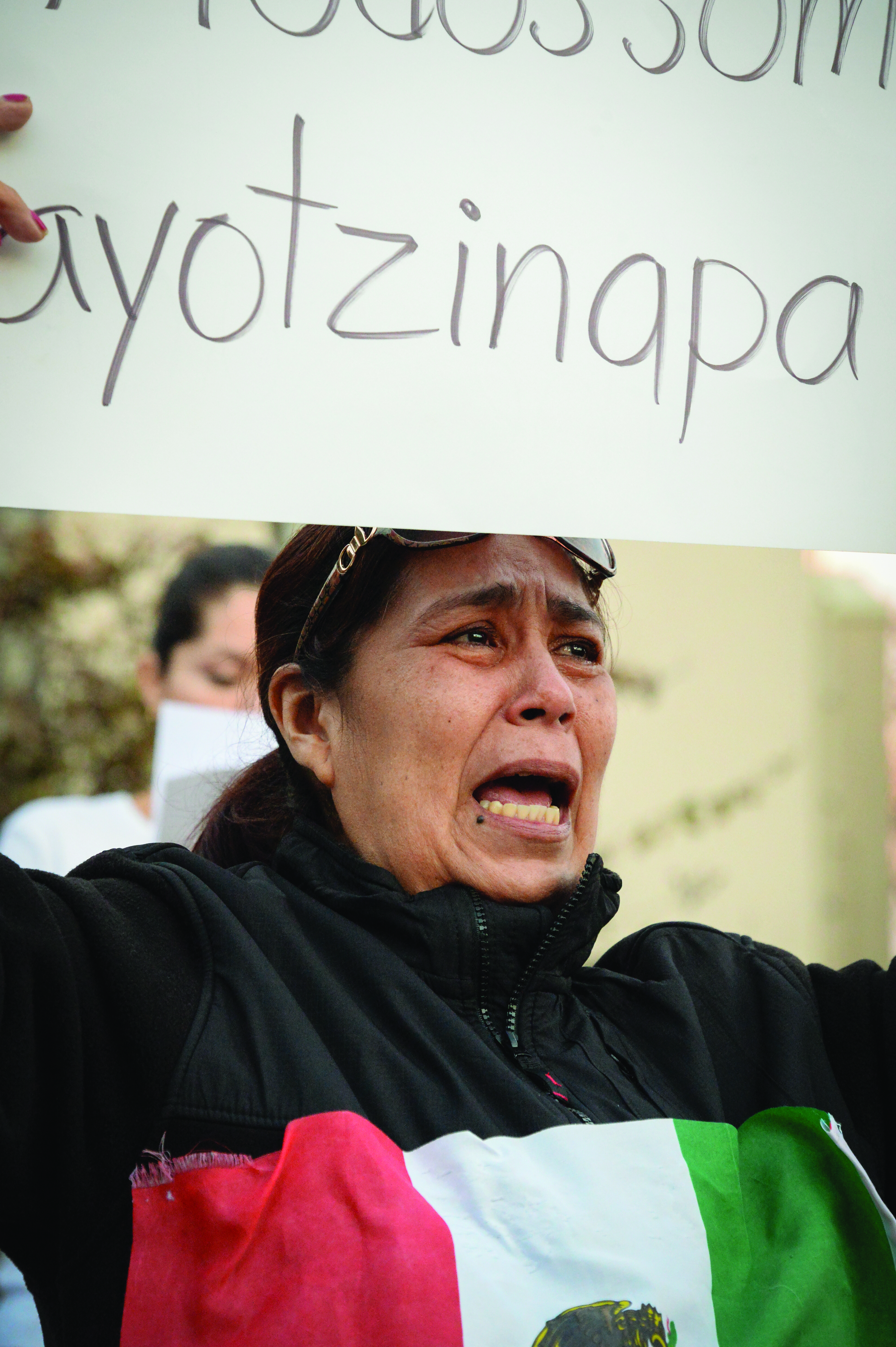 Rally in support of missing Ayotzinapa students, Mount Pleasant, December 2014