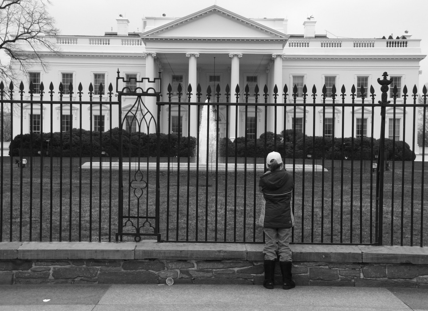 At the White House, March 2009