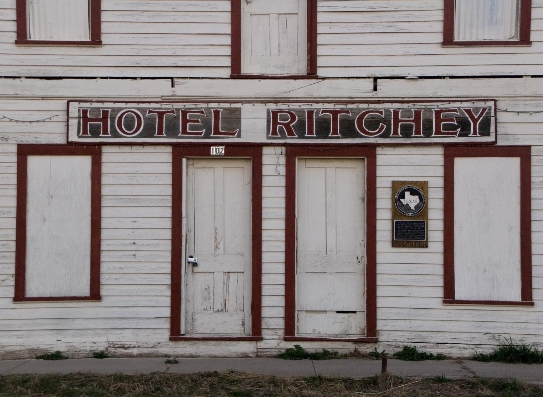 Hotel Richey, Alpine, Texas, December 2008