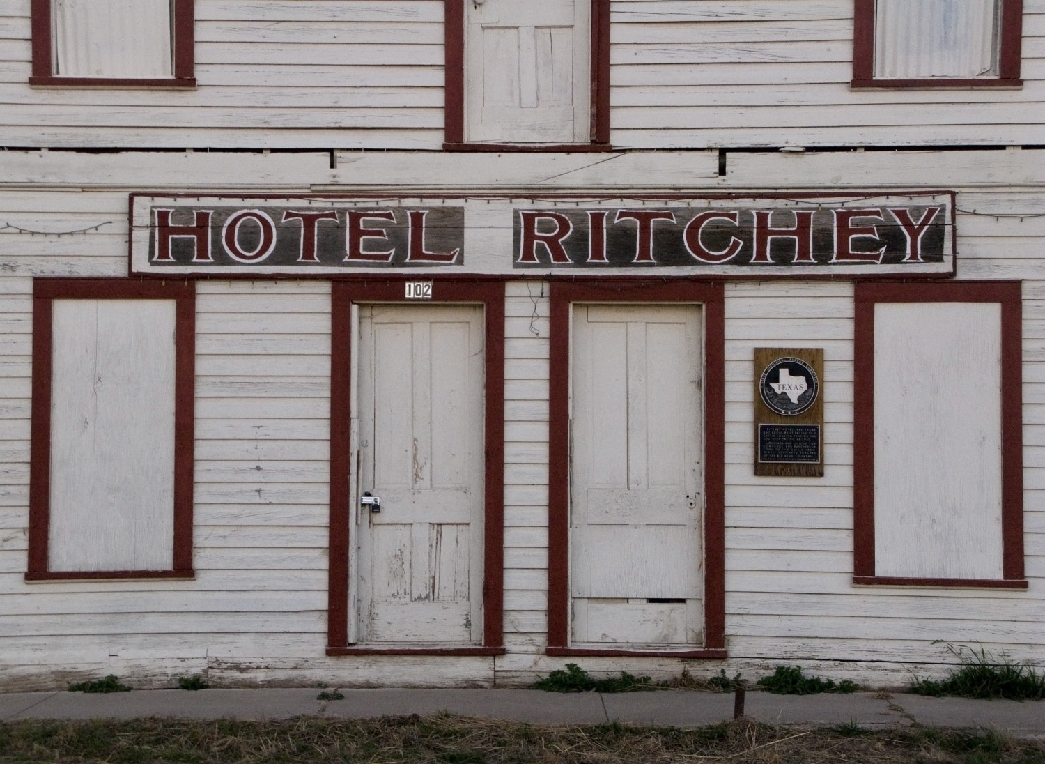 Hotel Richey, Alpine, Texas, December 2008