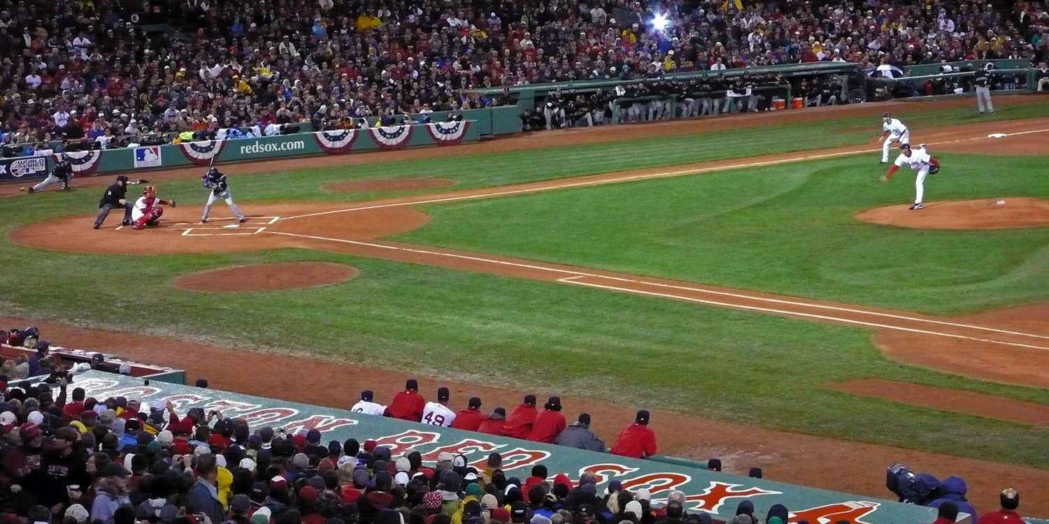 First pitch, 2007 World Series, Fenway Park